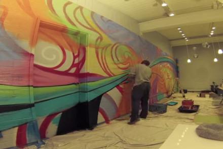 Ryan Peterson Time Elapse Wall Mural Painting at Mentor Me Petaluma