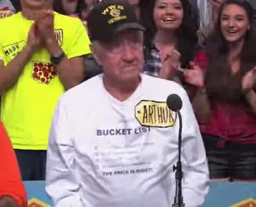 Petalumas Arthur Wedel World War II Veteran on The Price Is Right Show