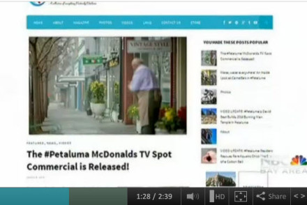 Positively Petaluma On NBC Bay Area News
