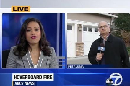 Petaluma CA Hoverboard Fire