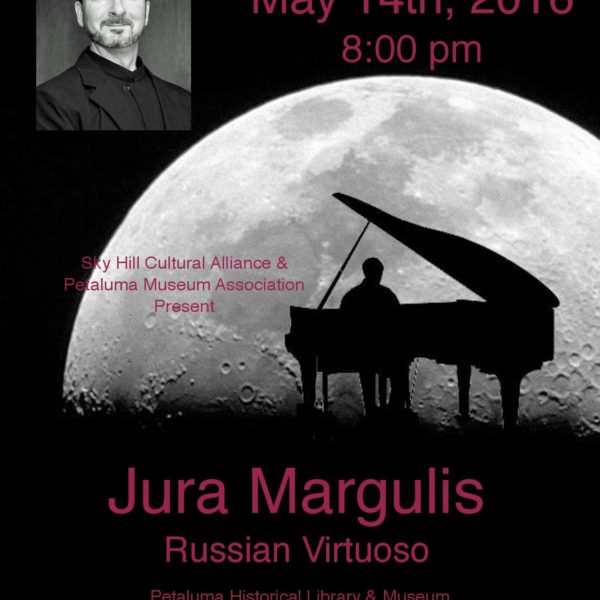 Russian Virtuoso Jura Margulis in Concert at Petaluma Ca Museum